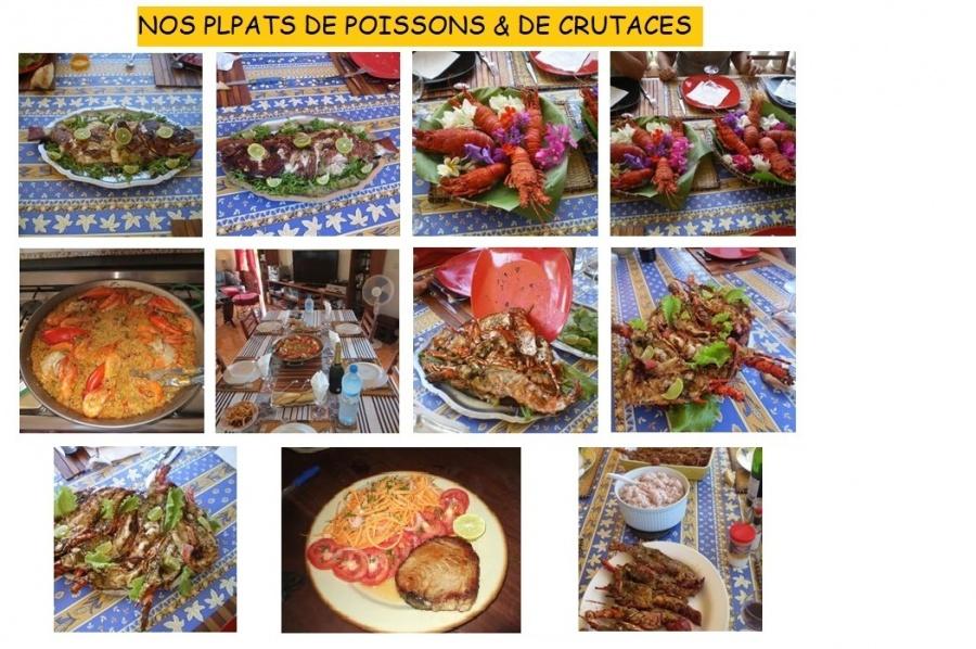 Poissons & Crutacés